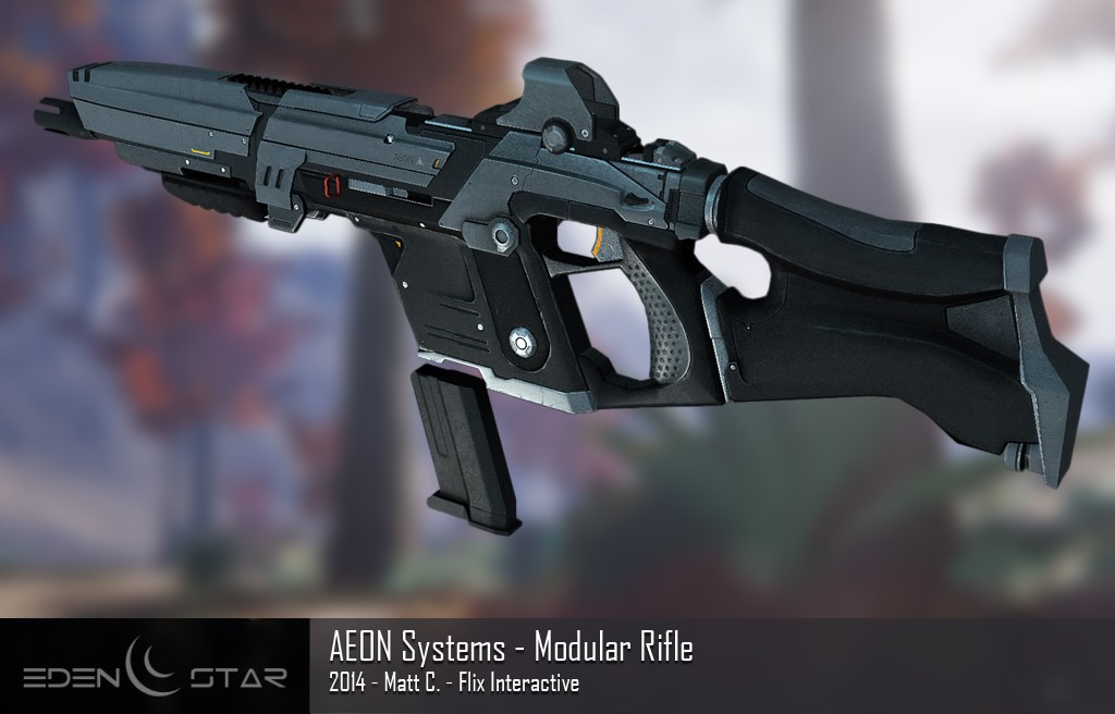 eden star aeon rifle