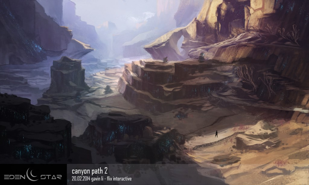 eden star canyon path concept
